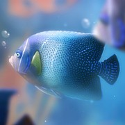 Aqua 3D on My World.